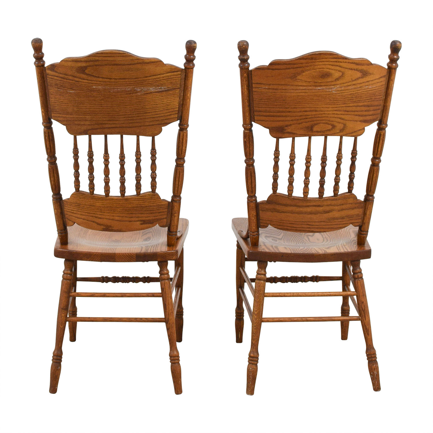 shop Antique Floral Carved Wood Chairs  Chairs