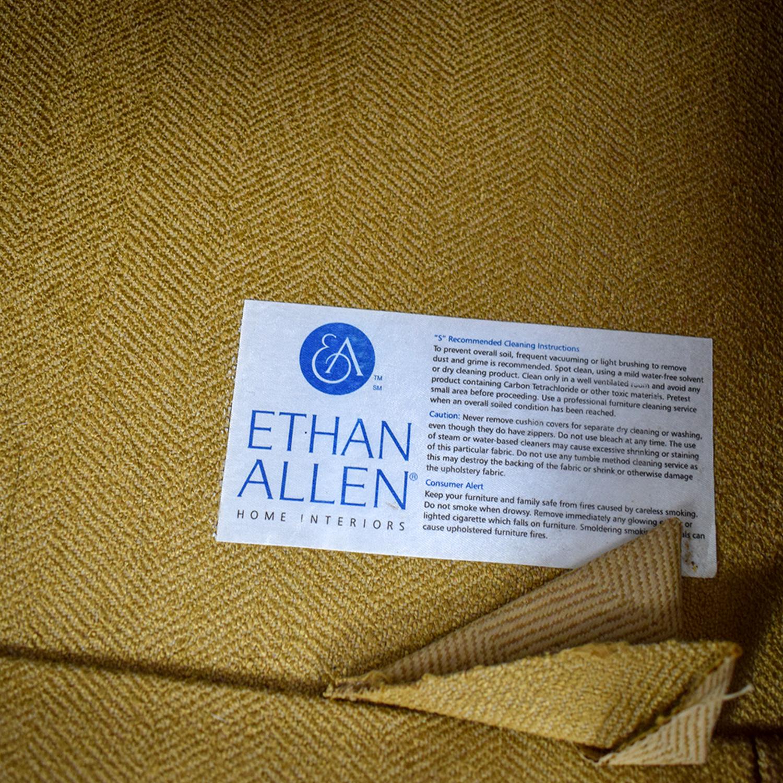 Ethan Allen Ethan Allen Tan Two-Cushion Love Seat nyc