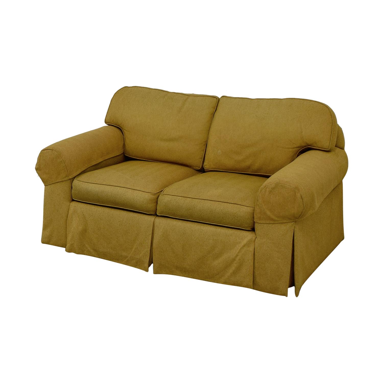 Ethan Allen Ethan Allen Tan Two-Cushion Love Seat tan