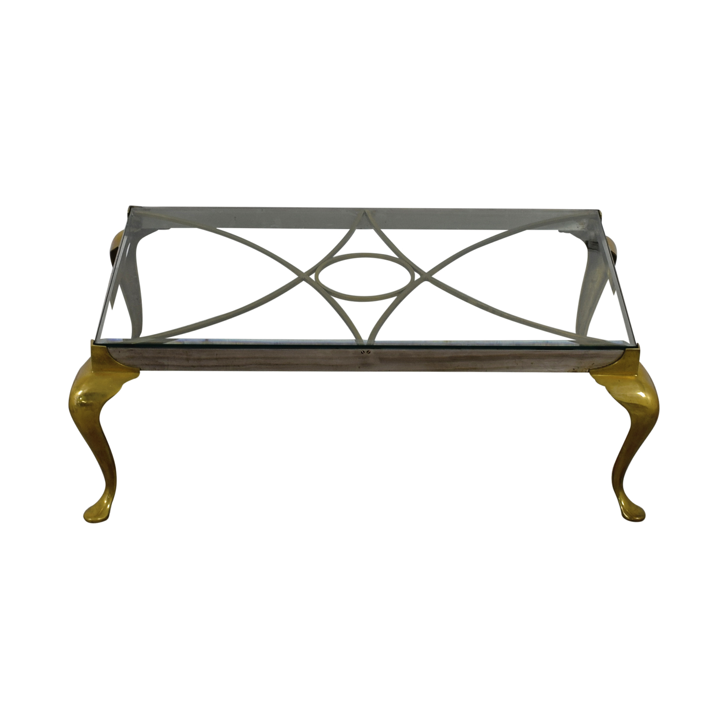 shop  Metal and Glass Living Room Table online