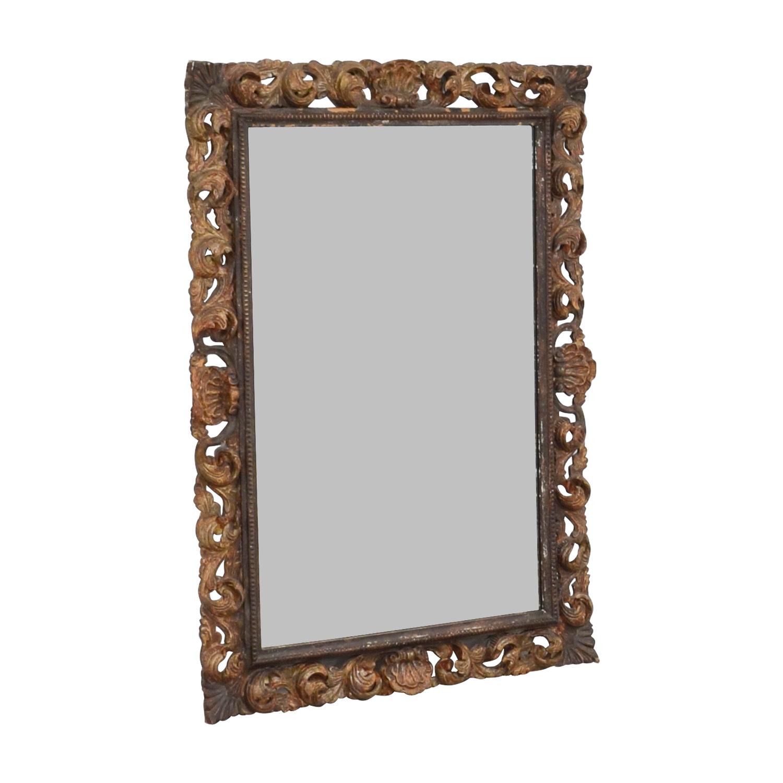 Antique Leaf Frame Mirror price
