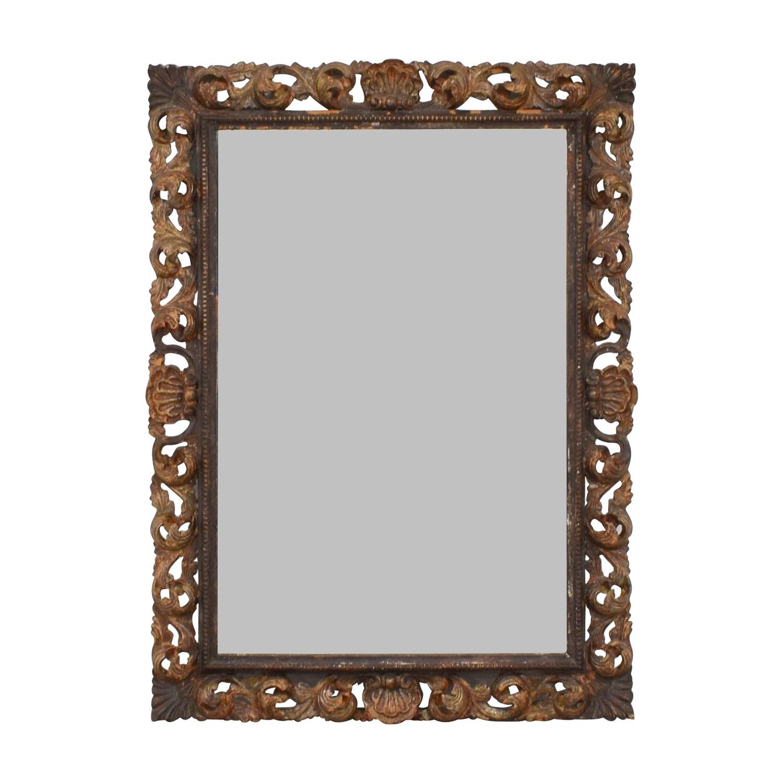 Antique Leaf Frame Mirror coupon