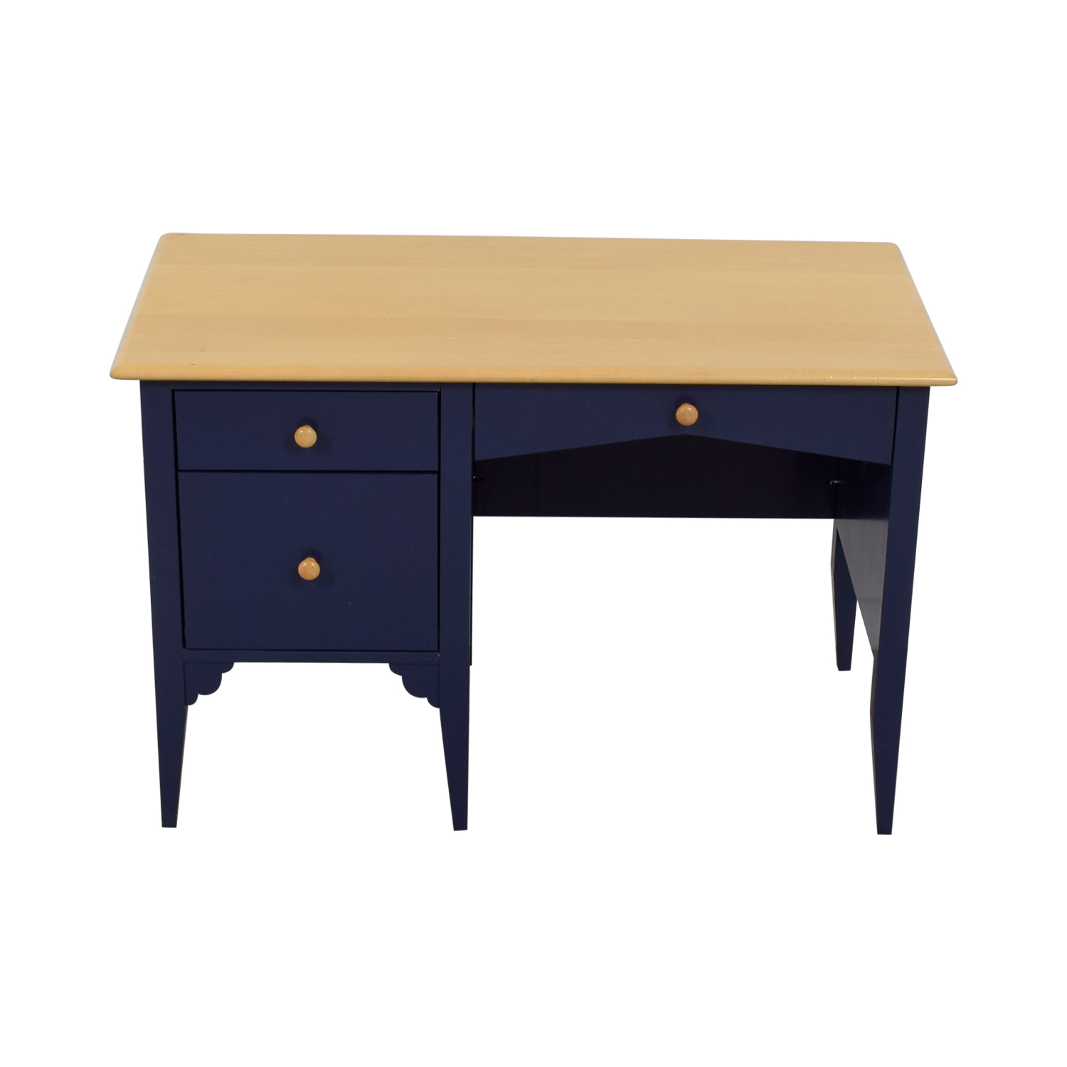 shop Maine Cottage Furniture Three Drawer Desk Maine Cottage Furniture