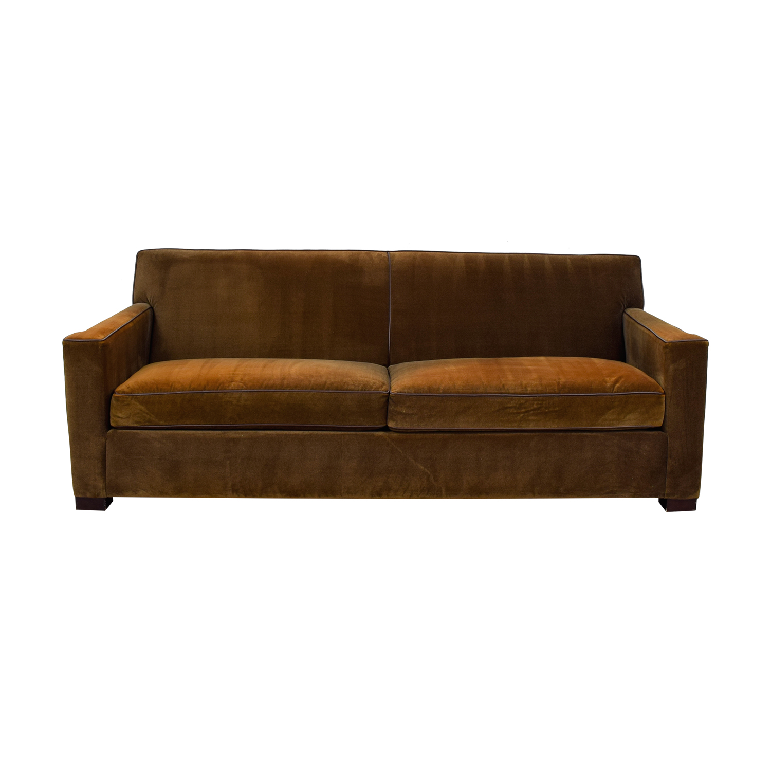 Crate & Barrel Crate & Barrel Chocolate Brown Sofa price