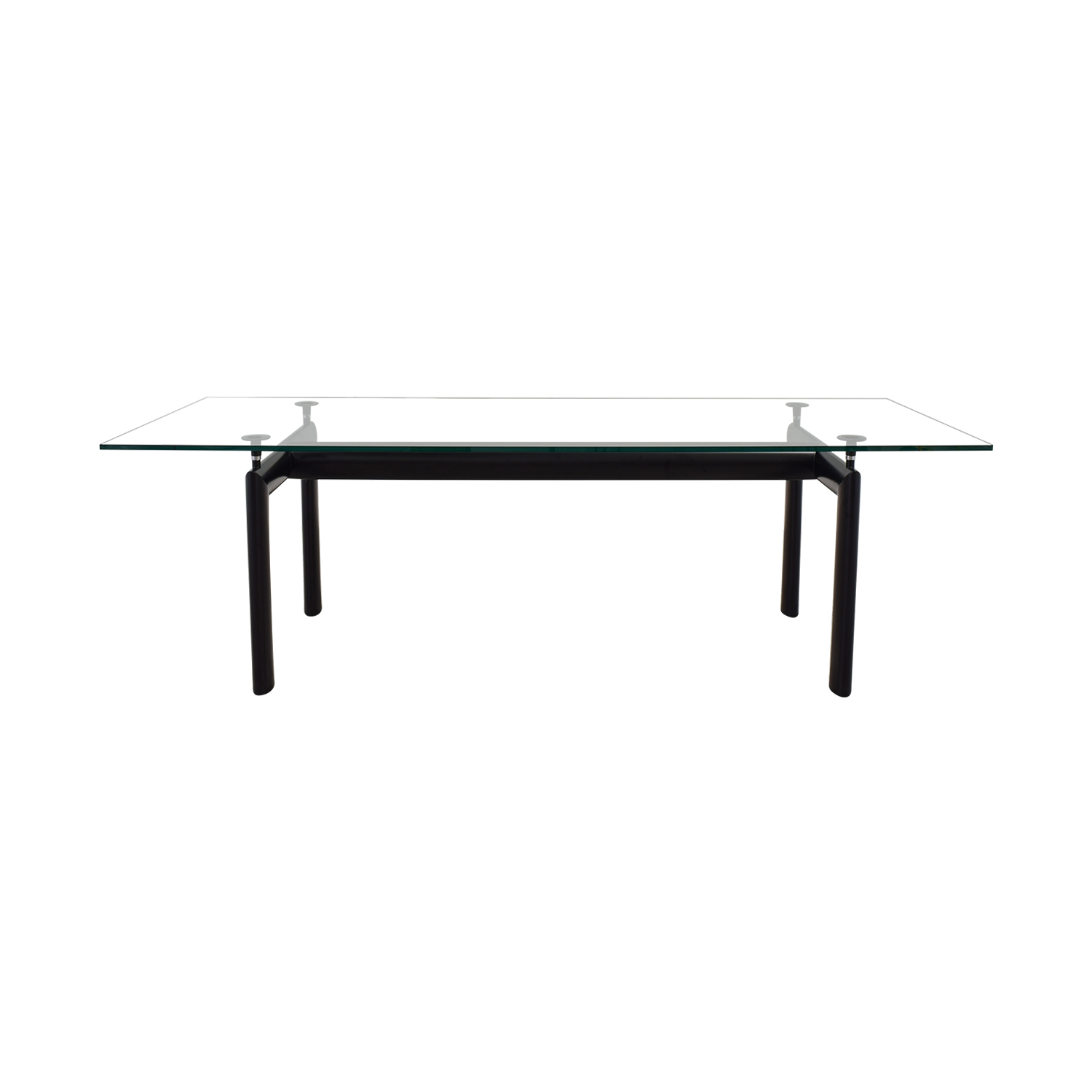 buy Design Within Reach Design Within Reach Cassina Le Corbusier Glass Dining Table online