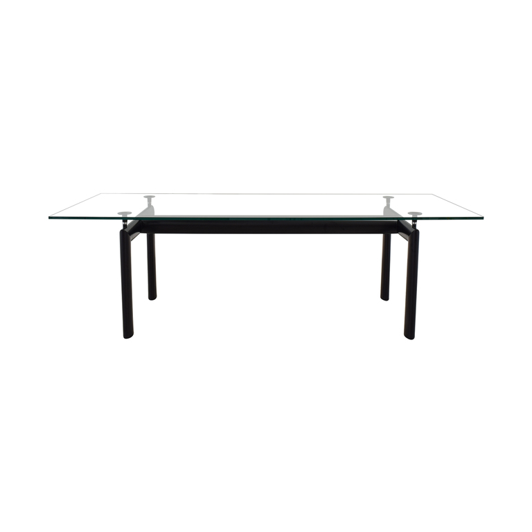 Design Within Reach Design Within Reach Cassina Le Corbusier Glass Dining Table coupon