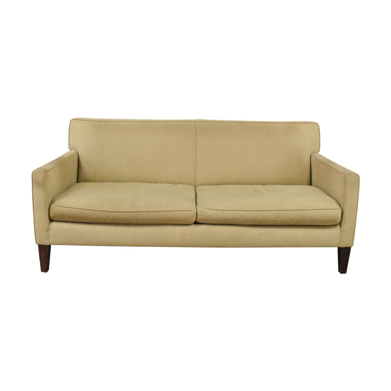buy Crate & Barrel Beige Sofa Crate & Barrel