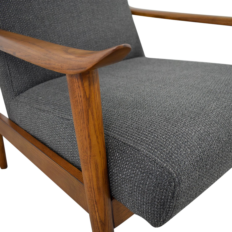 West Elm West Elm Mid-Century Show Wood Chair nj