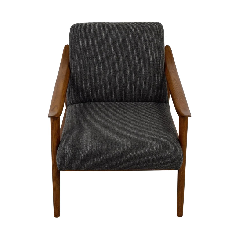 shop West Elm West Elm Mid-Century Show Wood Chair online