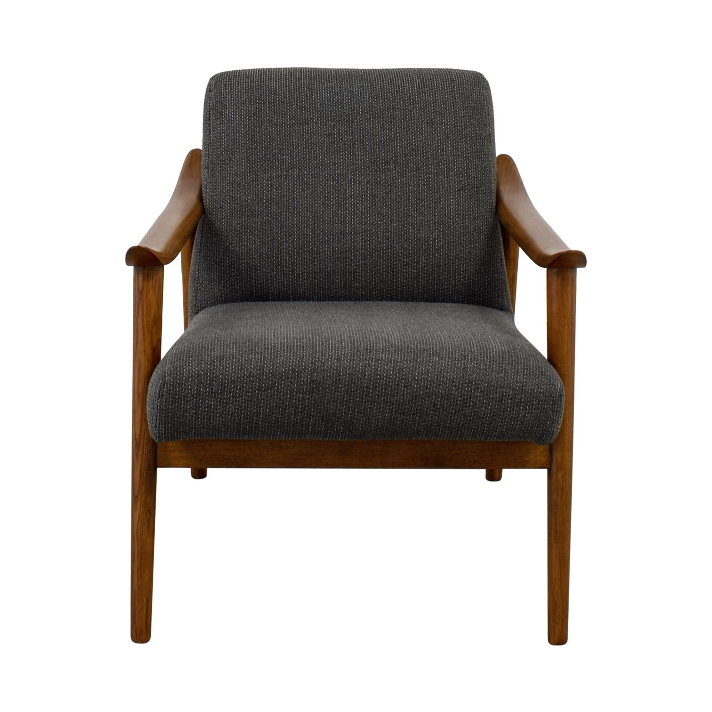 buy West Elm West Elm Mid-Century Show Wood Chair online