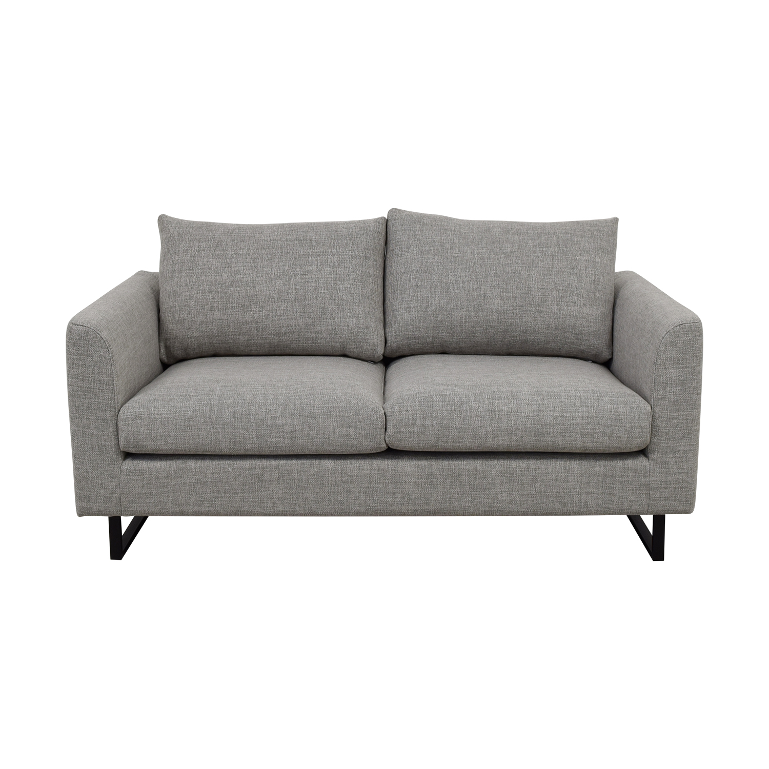 Owens Gray Loveseat Sofa