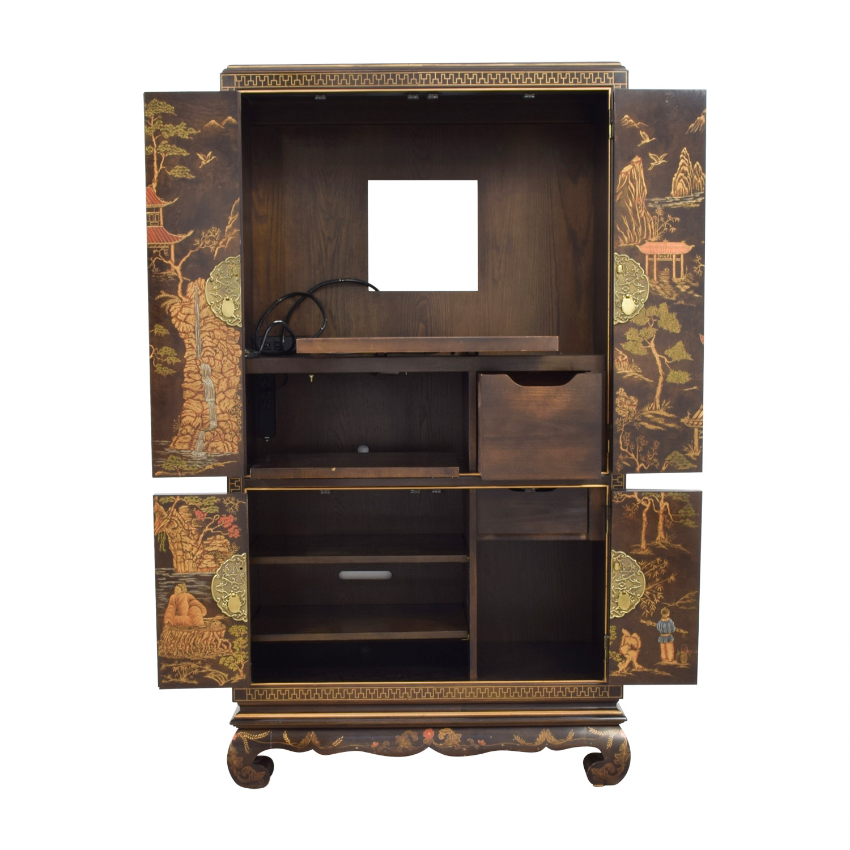 Phenomenal 64 Off Henredon Furniture Henredon Asian Etareges Tv Cabinet Armoire Storage Andrewgaddart Wooden Chair Designs For Living Room Andrewgaddartcom