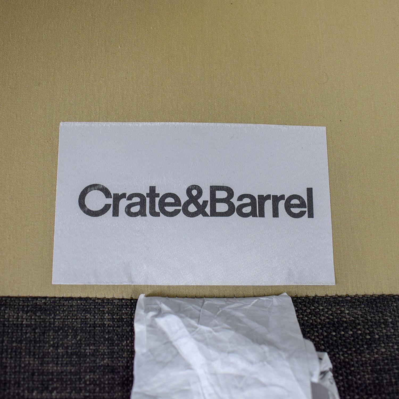 Crate & Barrel Crate & Barrel Davis Three Seat Lounger Sectional Sofa on sale