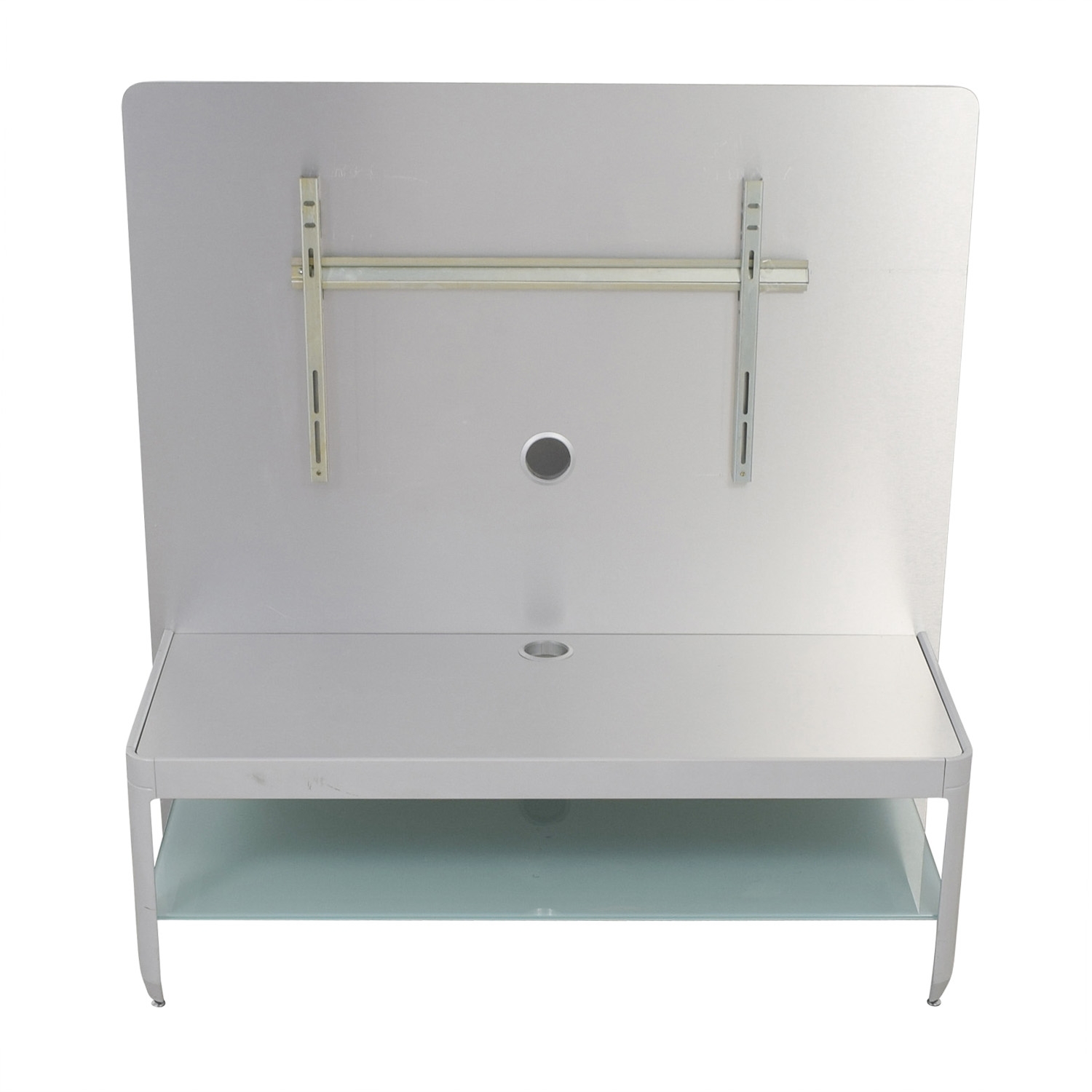 shop Design Within Reach Alu Silver Media Console Design Within Reach Storage