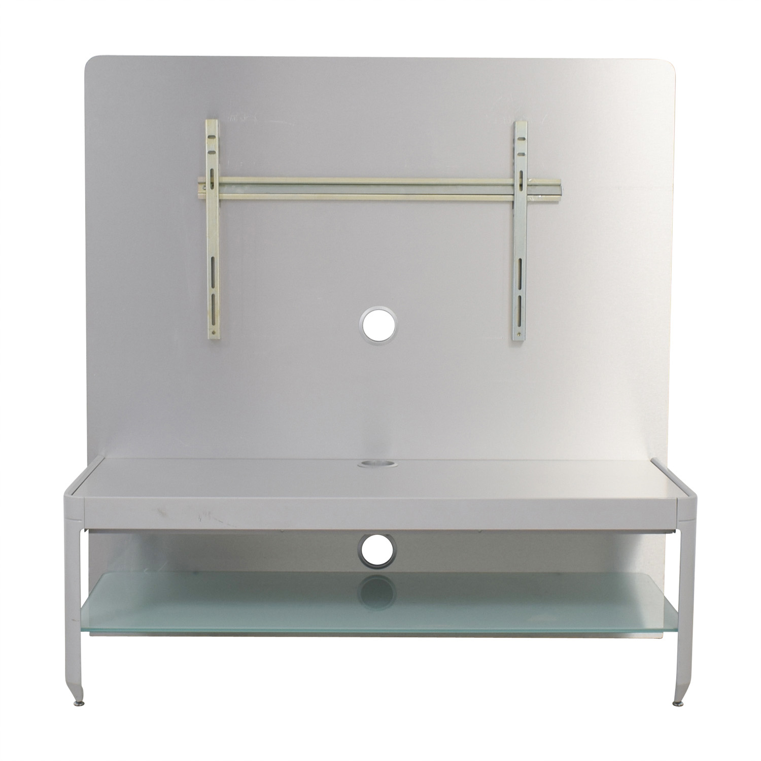 Design Within Reach Alu Silver Media Console Design Within Reach