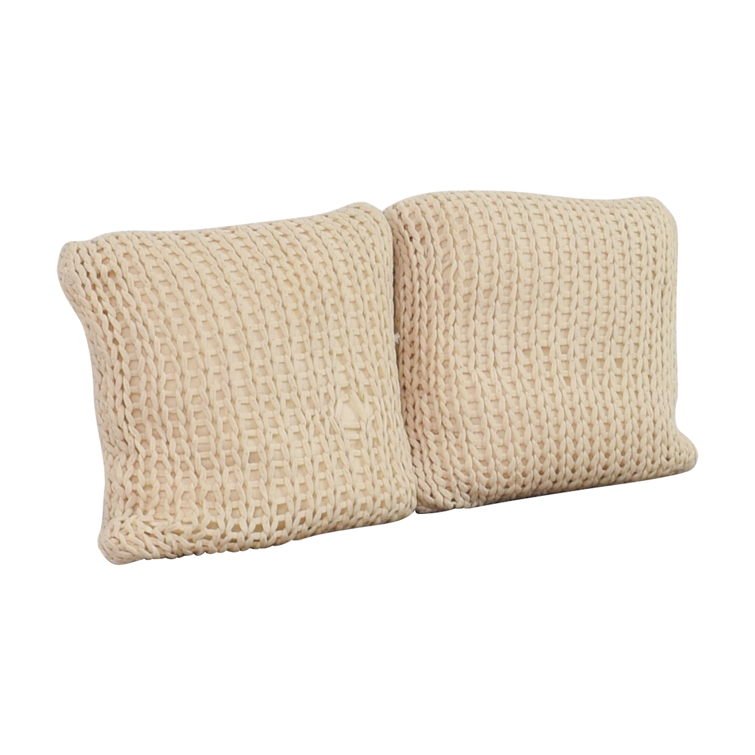 Crate & Barrel Crate & Barrel Ivory Holden Pillows nyc