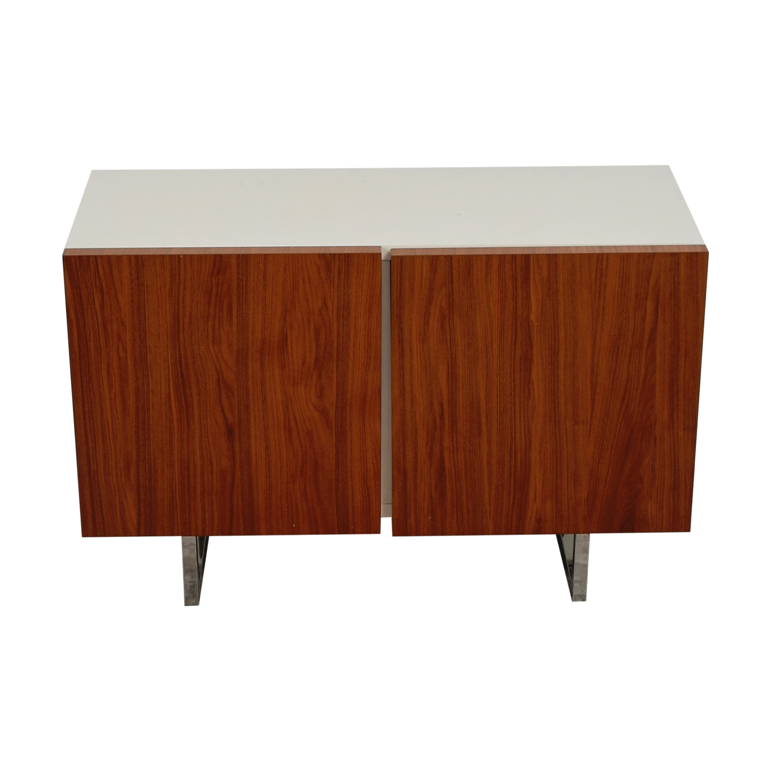 Calligaris Calligaris White and Wood Buffet nj