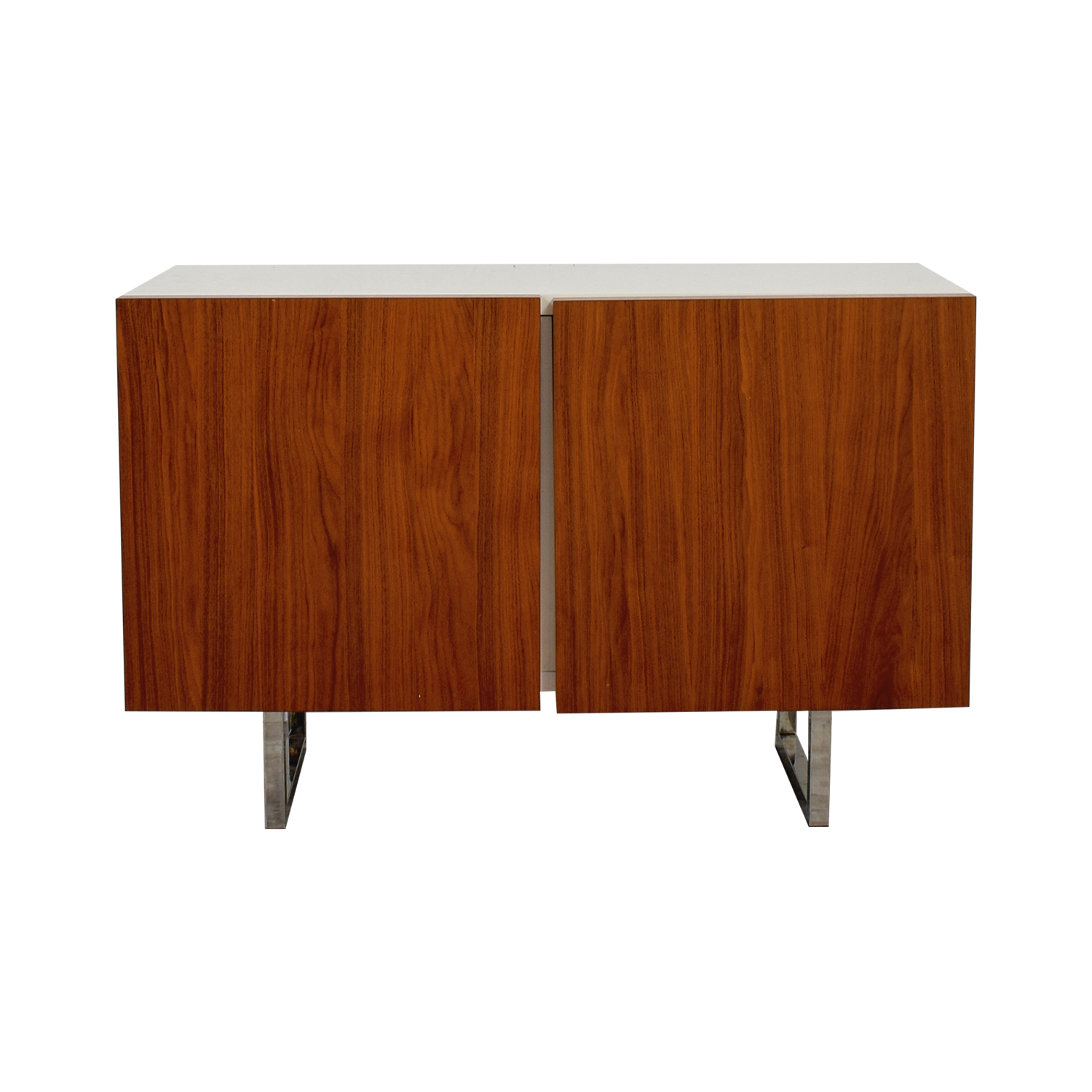 Calligaris Calligaris White and Wood Buffet coupon