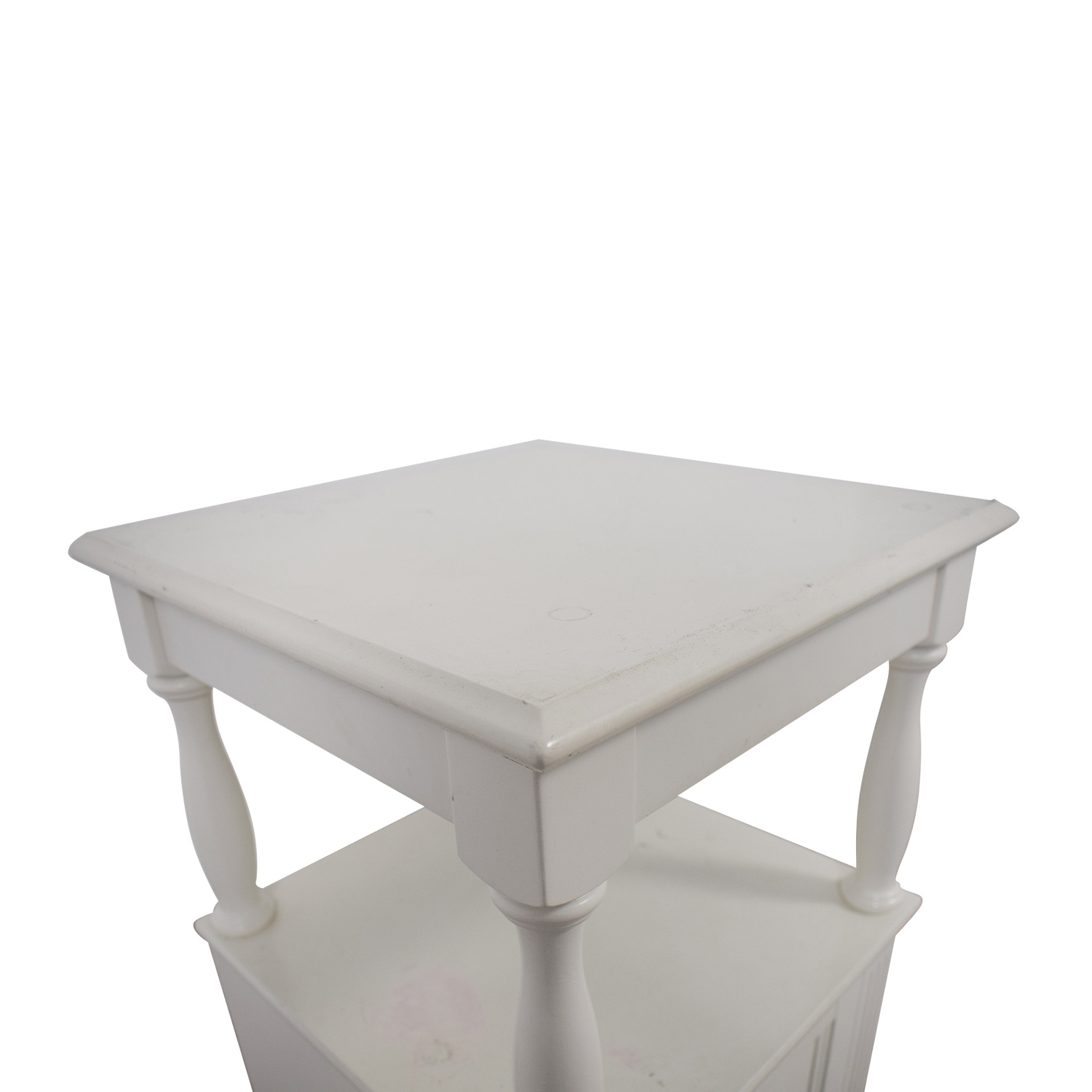 84 Off Target Target White Cottage Nightstand Tables