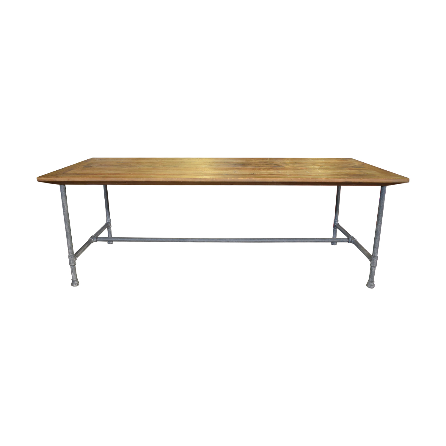 ABC Carpet & Home ABC Carpet & Home Rustic Wood Dining Table second hand