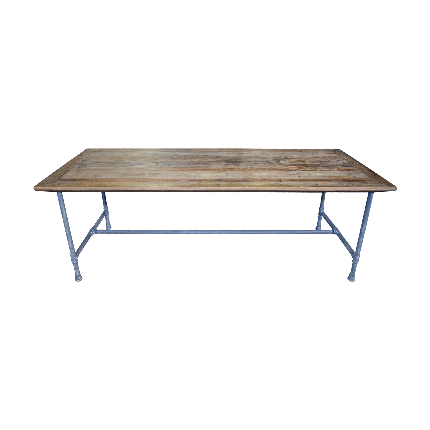 ABC Carpet & Home Rustic Wood Dining Table sale