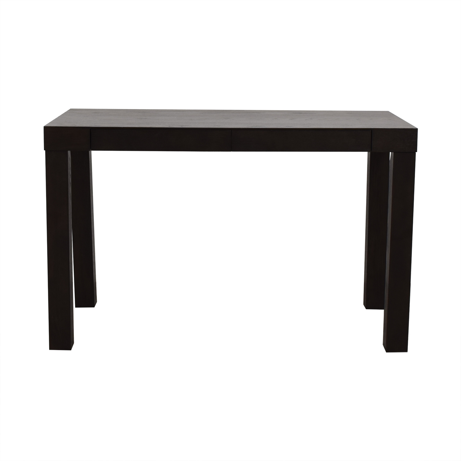 West Elm West Elm Parsons Wood Desk dimensions