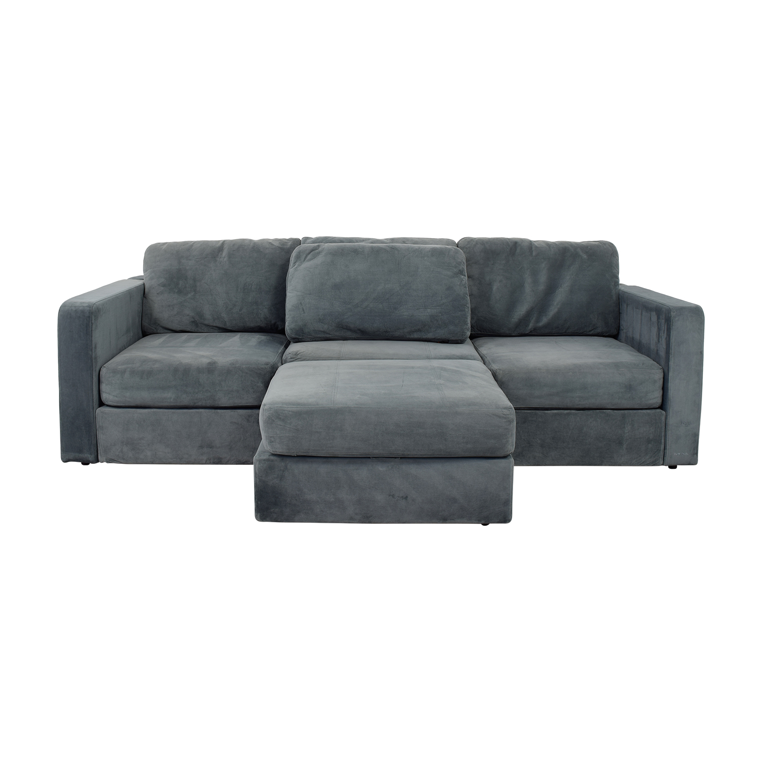 Lovesac Lovesac Grey Center Chaise Sectional Sofas