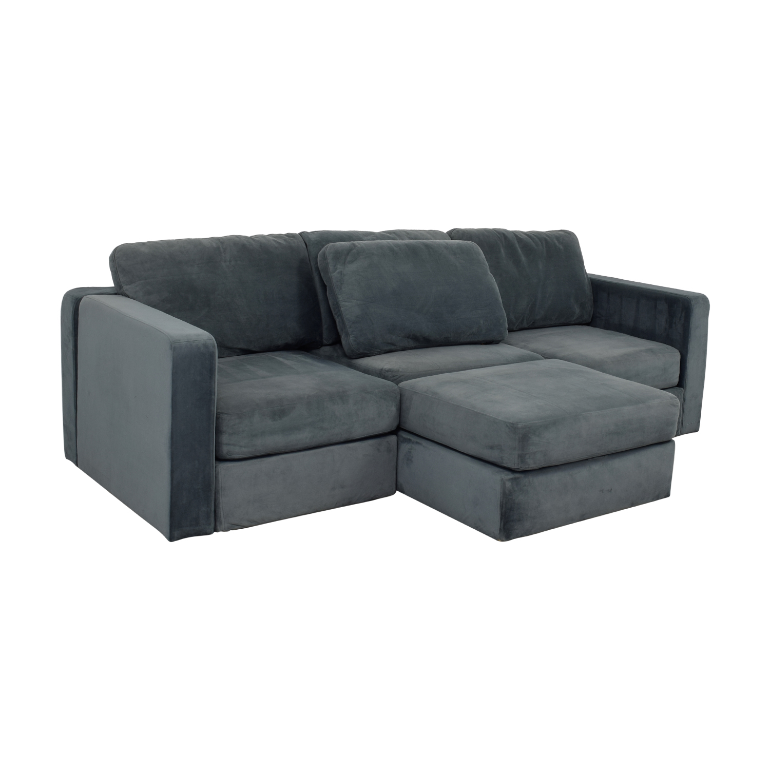77 Off Lovesac Lovesac Grey Center Chaise Sectional Sofas