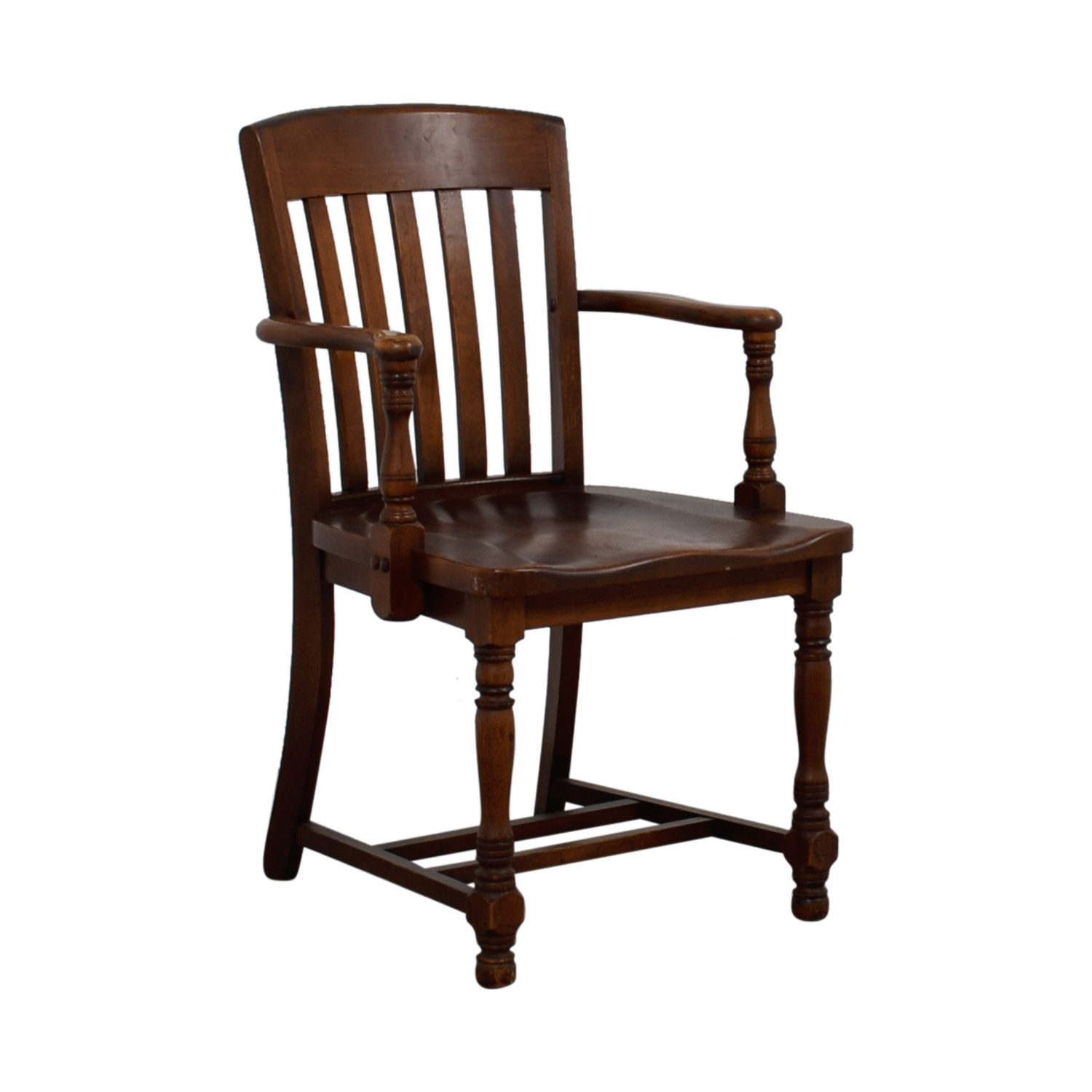 buy Murphy Chair Company Brown Wooden Captain Chair Murphy Chair Company Accent Chairs