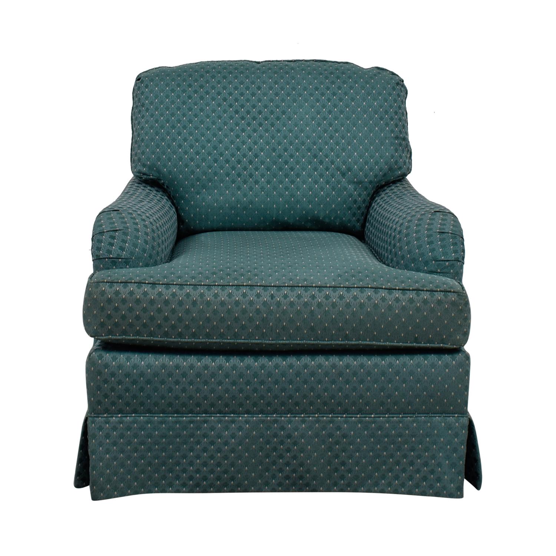 Thomasville Thomasville Turquoise Club Chair used