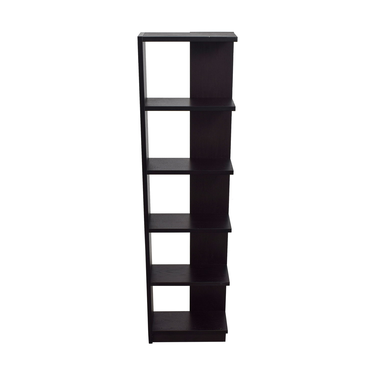 Black Tower Shelving Unit Black