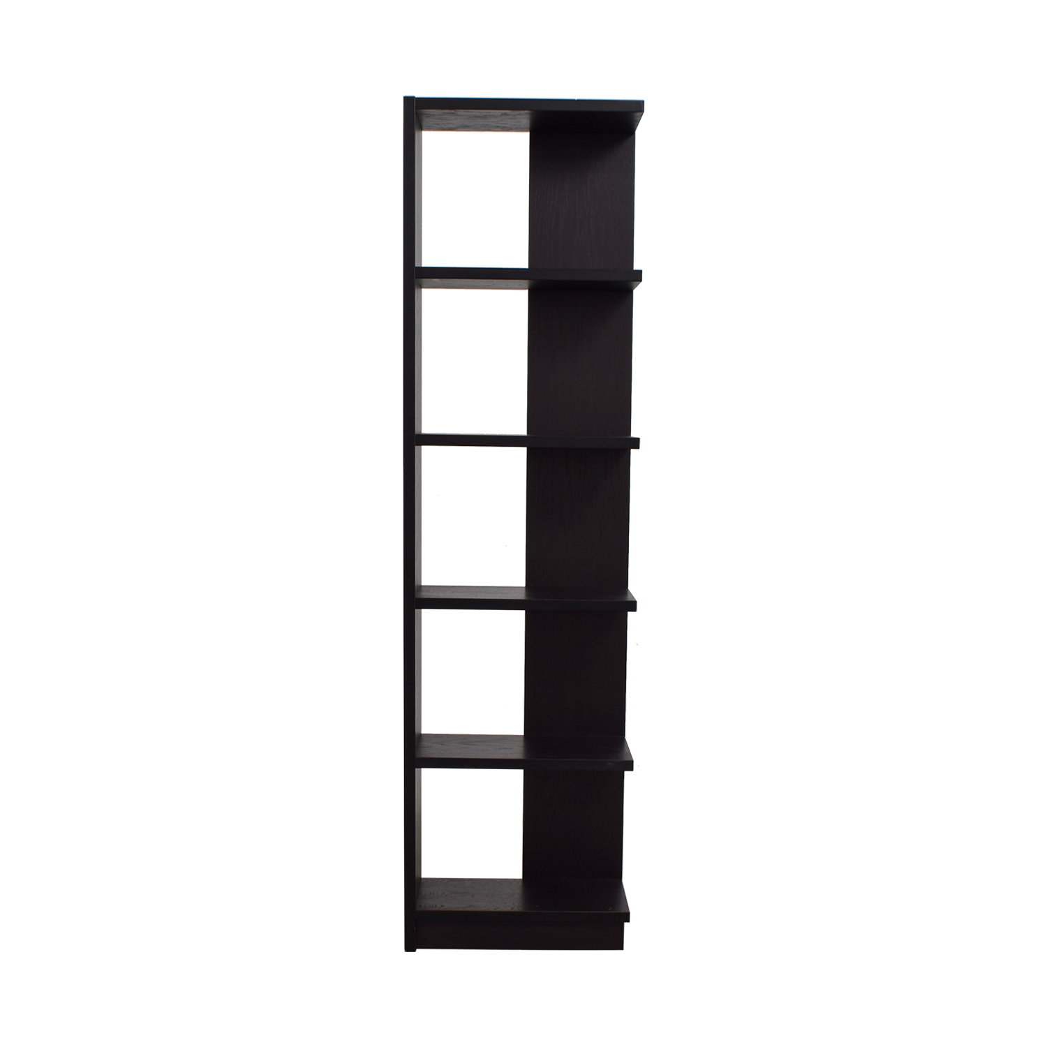 Black Tower Shelving Unit nyc