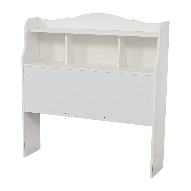 shop White Twin Bookcase Headboard  Beds