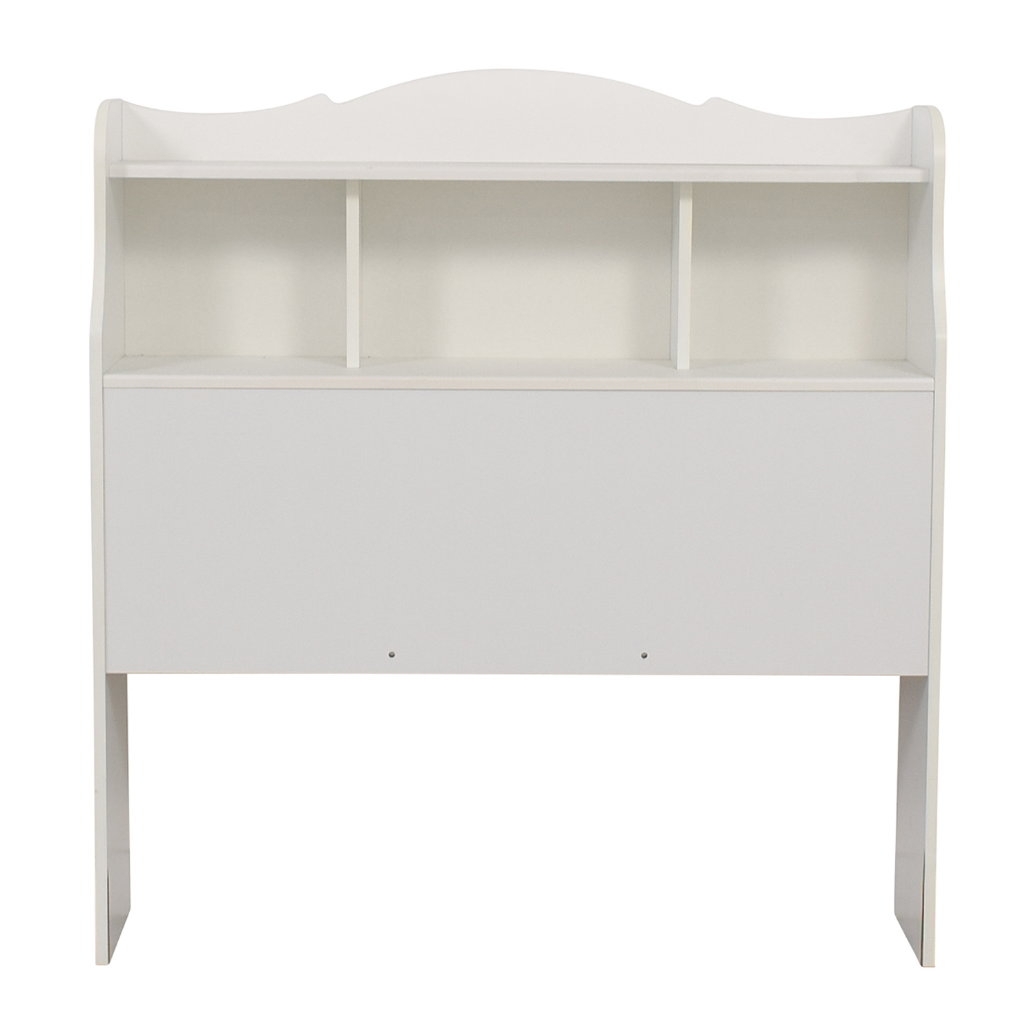 White Twin Bookcase Headboard price