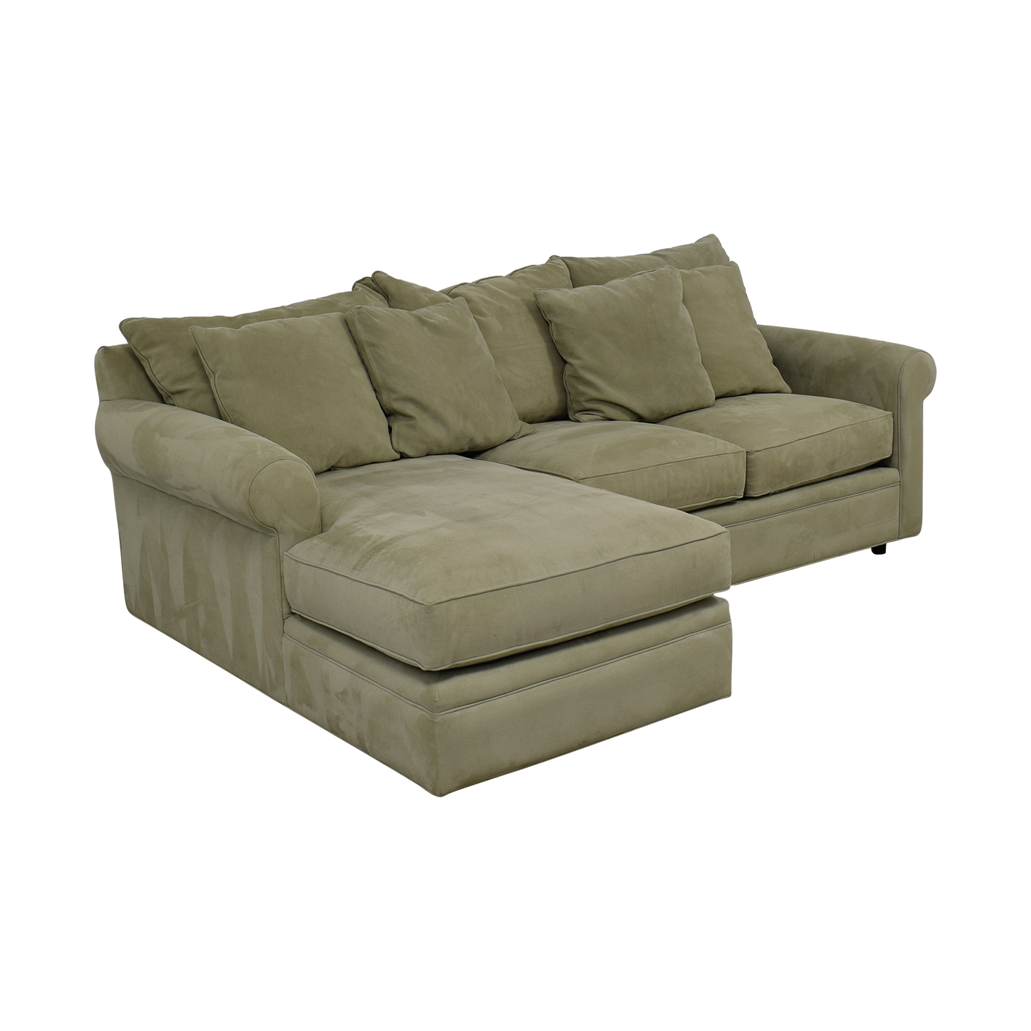 Merveilleux ... Buy Modern Concepts Doss II Grey Chaise Sectional Modern Concepts Sofas  ...