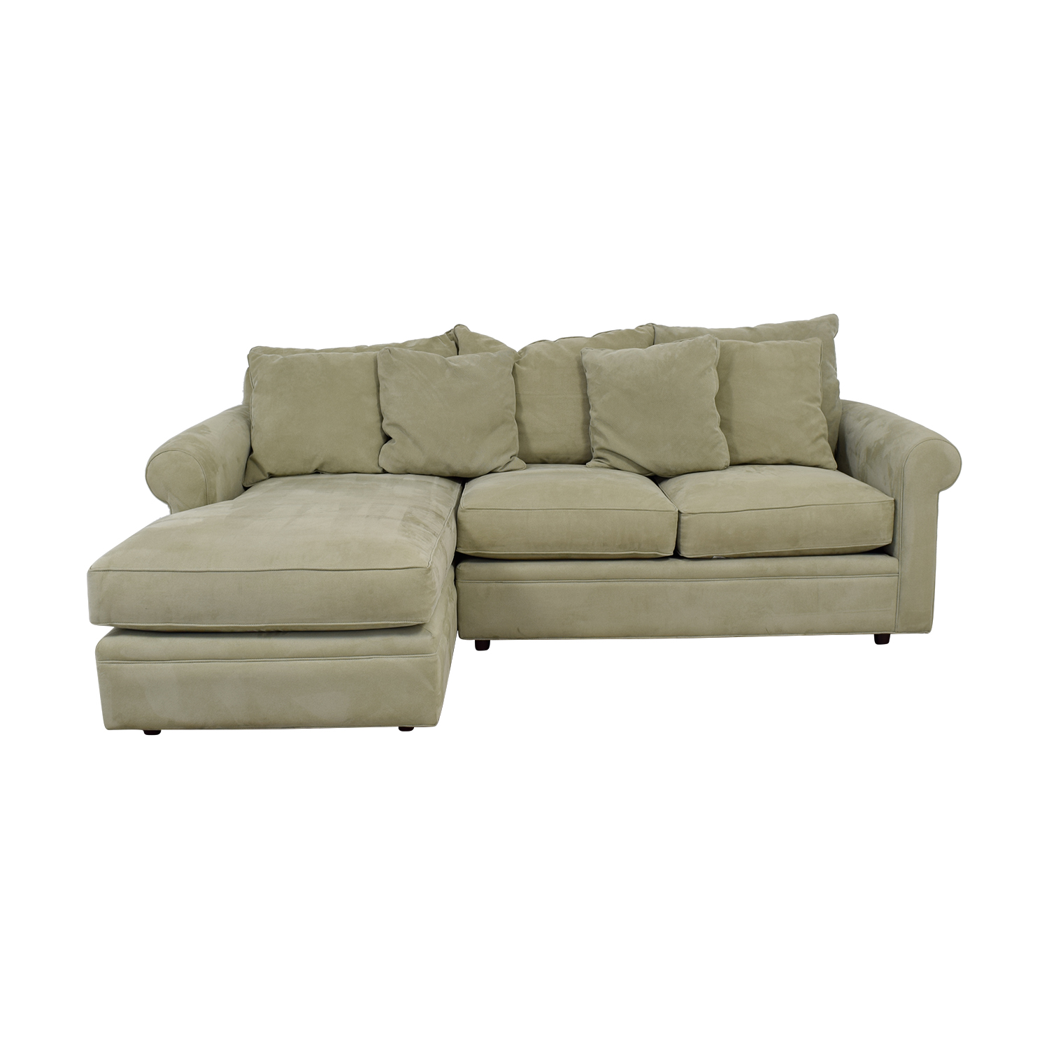 shop Modern Concepts Modern Concepts Doss II Grey Chaise Sectional online