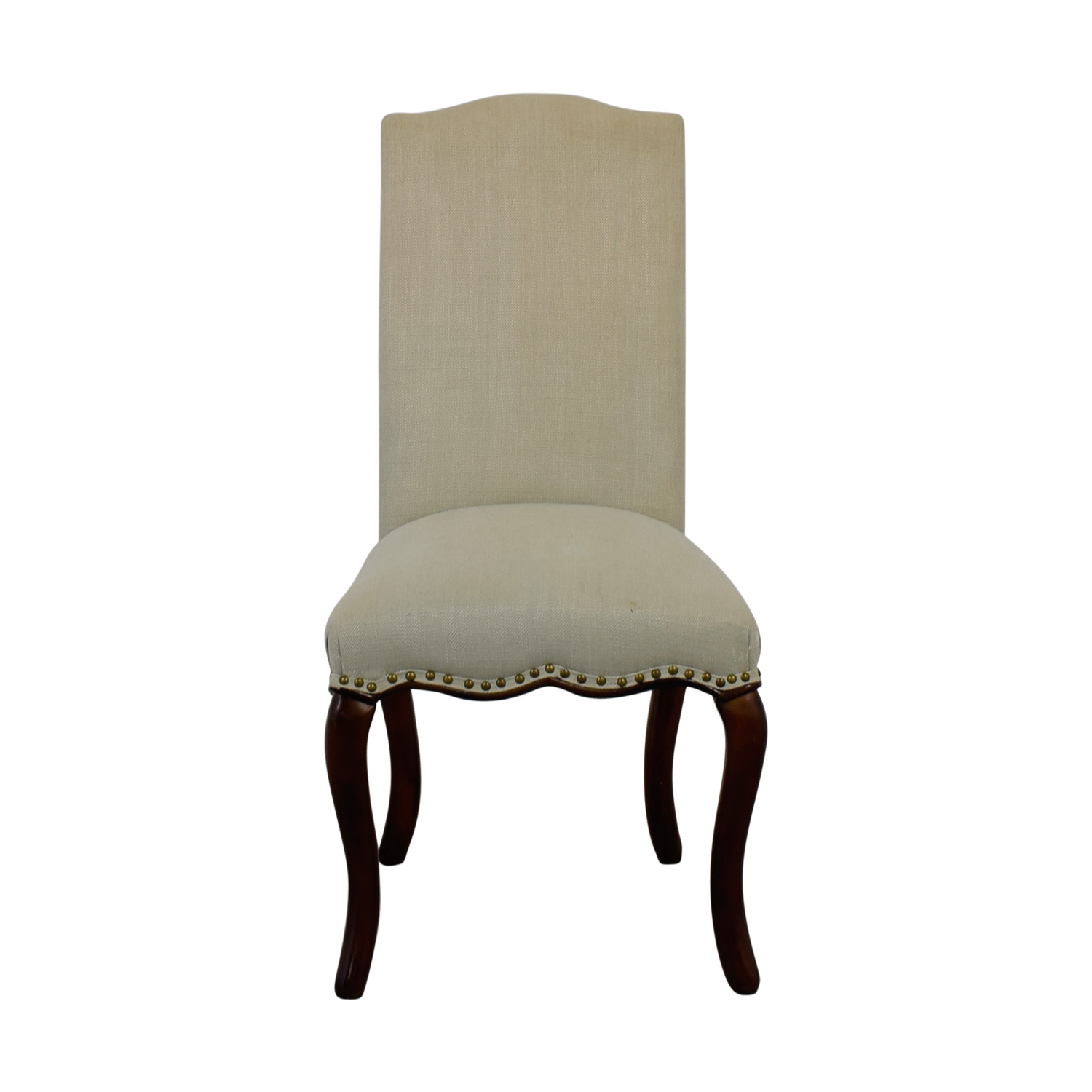 Pier 1 Pier 1 Pebble Pool Dining Chair with Espresso Wood nj