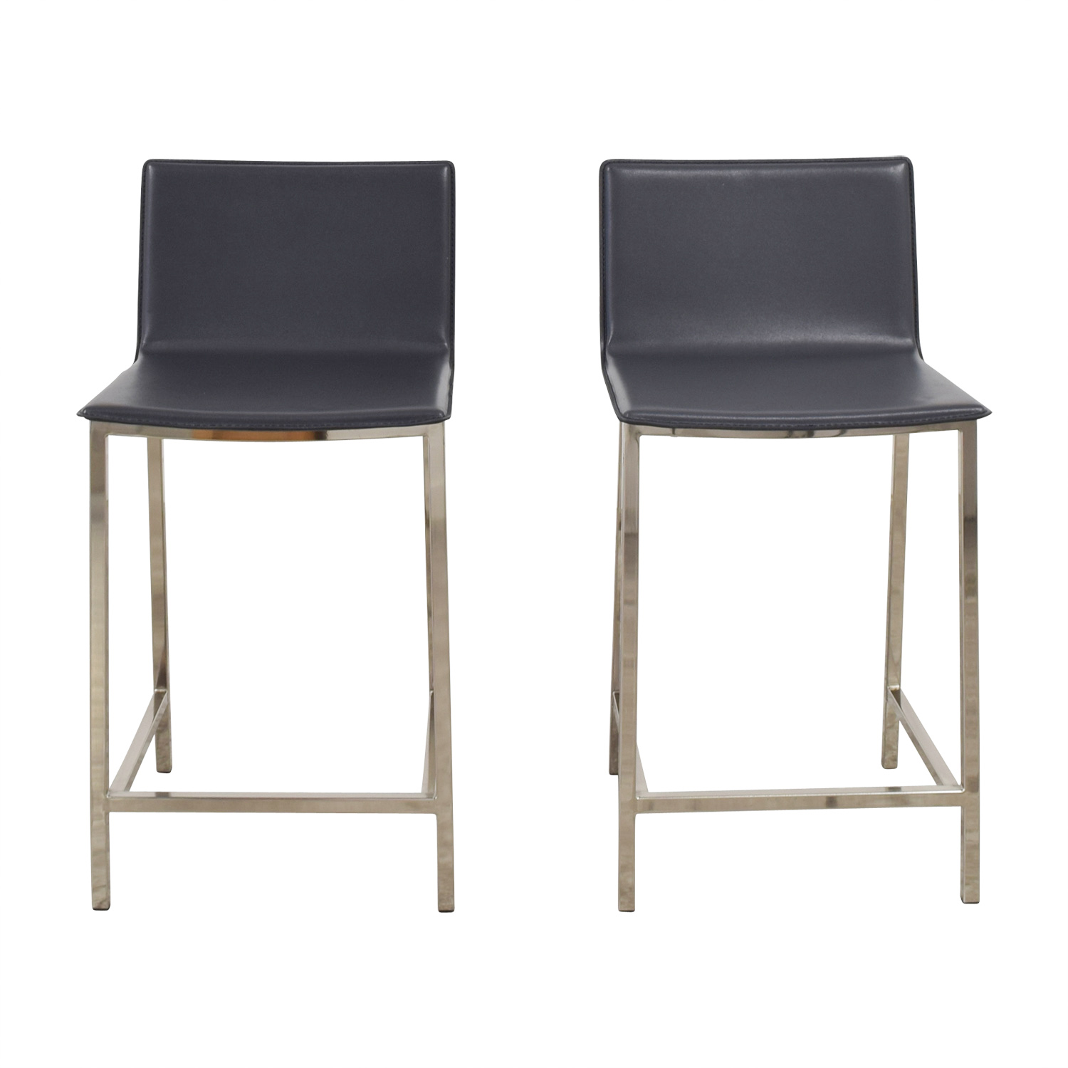 CB2 CB2 Phoenix Carbon Grey Counter Stools Coupon ...