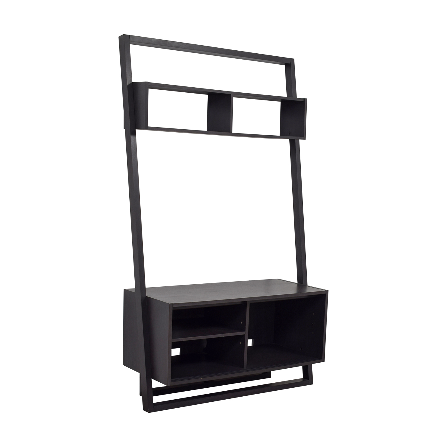 Crate & Barrel Crate & Barrel Sloane Leaning Media Stand used