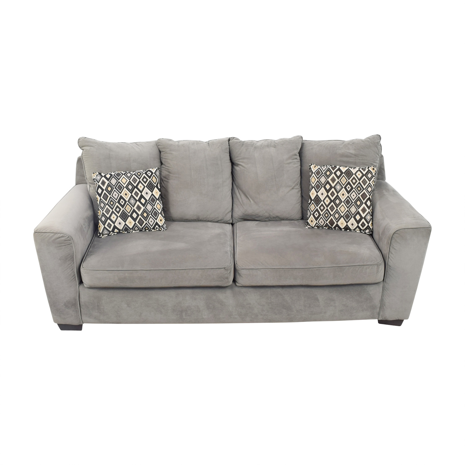 shop Jennifer Leather Two Cushion Sofa Jennifer Leather Classic Sofas