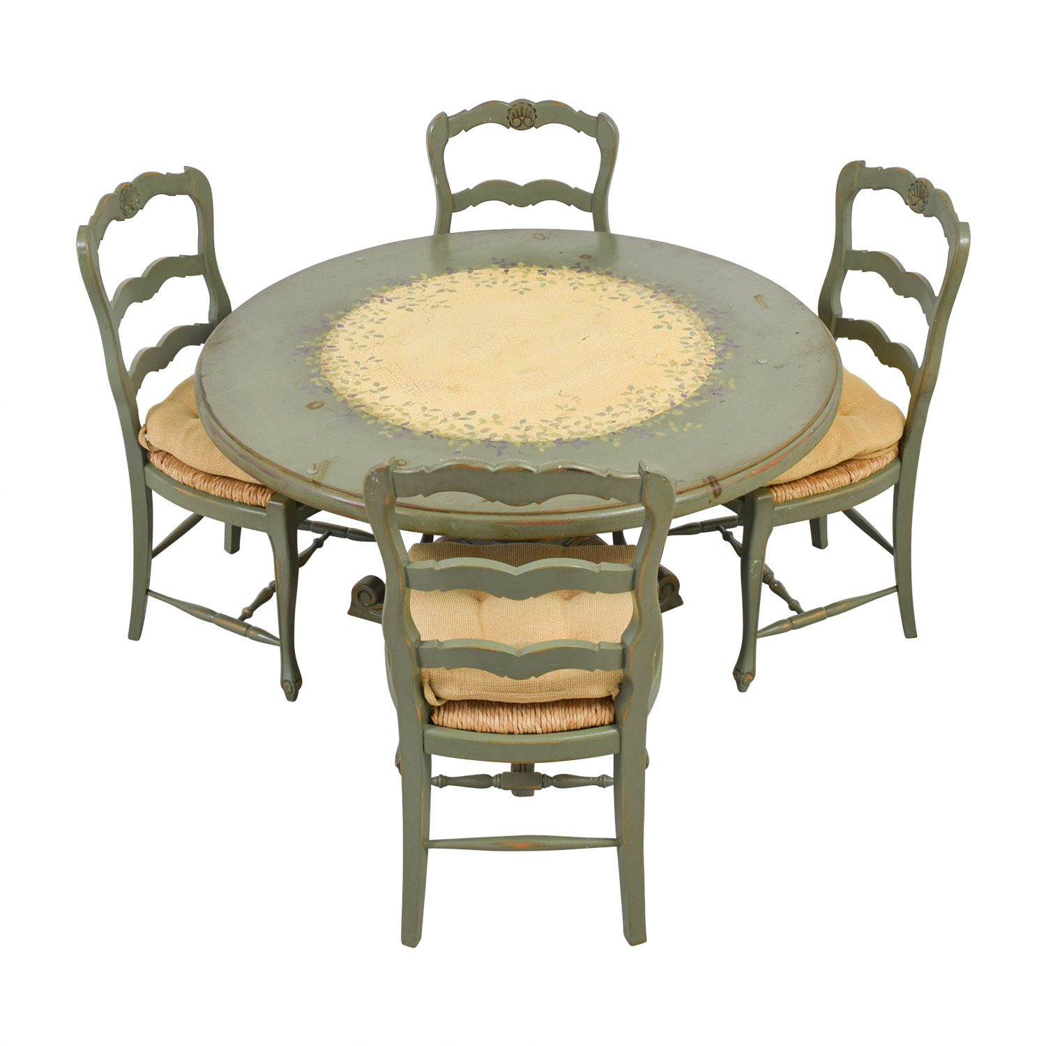 Hand Painted Country Style Kitchen Table and Chairs price