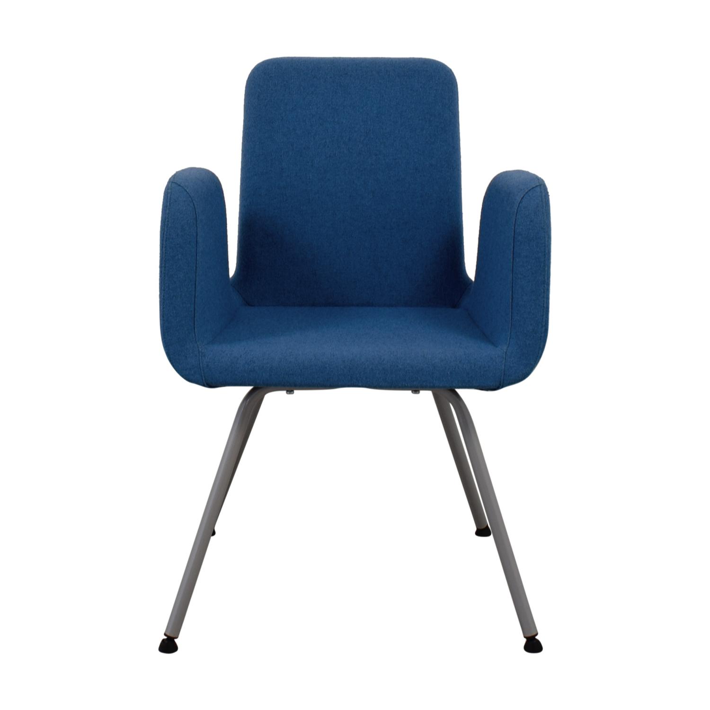 Outstanding 89 Off Ikea Ikea Patrik Blue Conference Chair Chairs Inzonedesignstudio Interior Chair Design Inzonedesignstudiocom