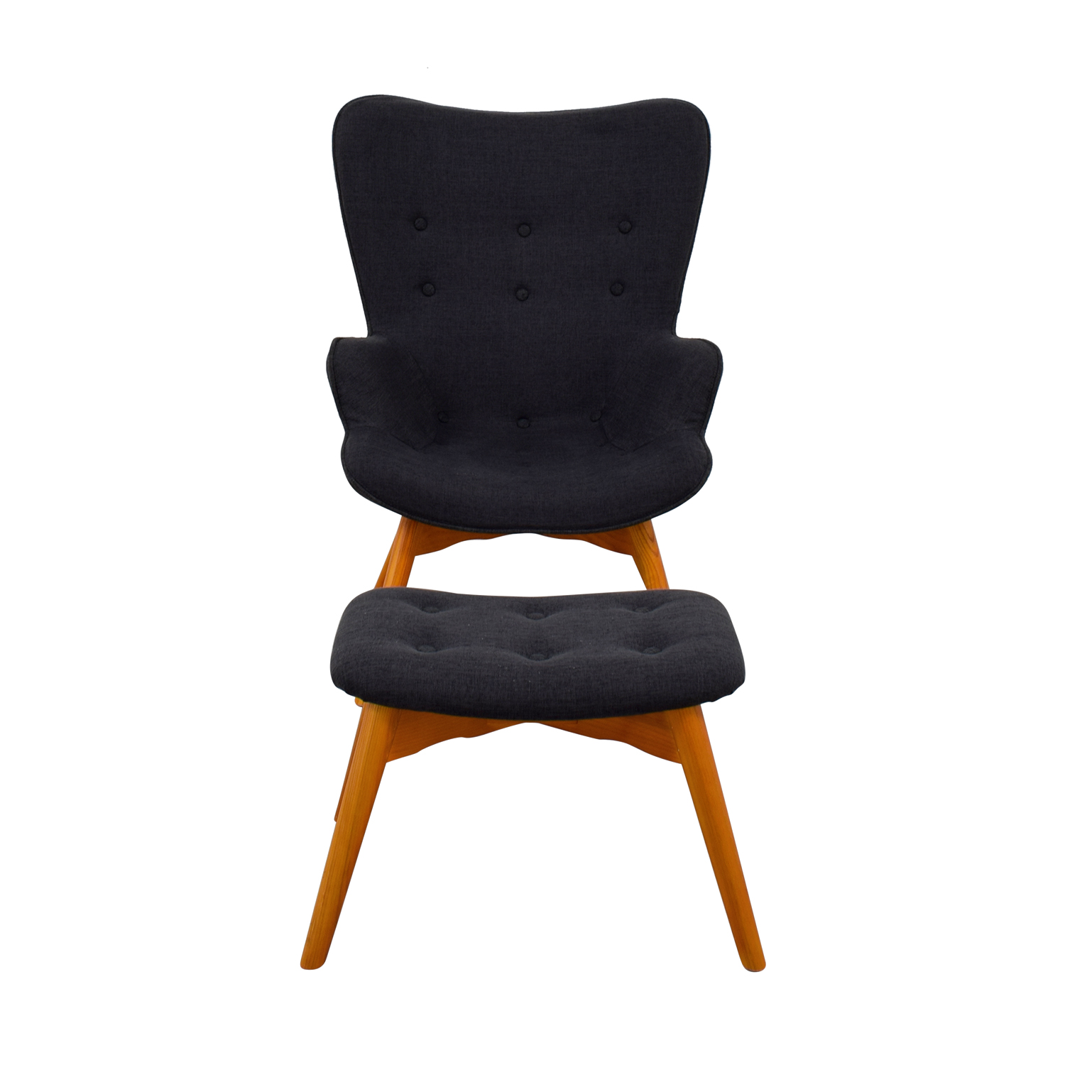 Joss and Main Canyon Vista Lounge Chair and Ottoman sale