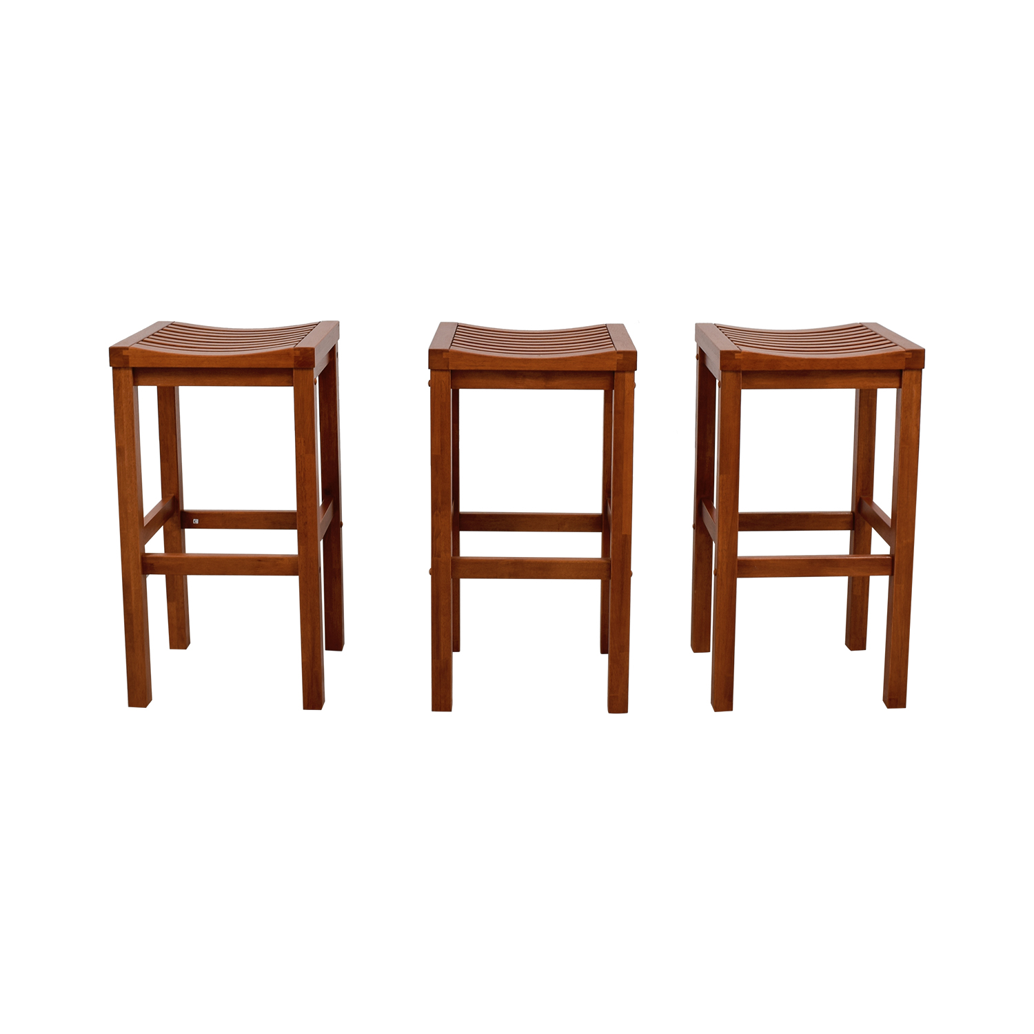 Home Styles Home Styles Oak Finish Bar Stool Chairs