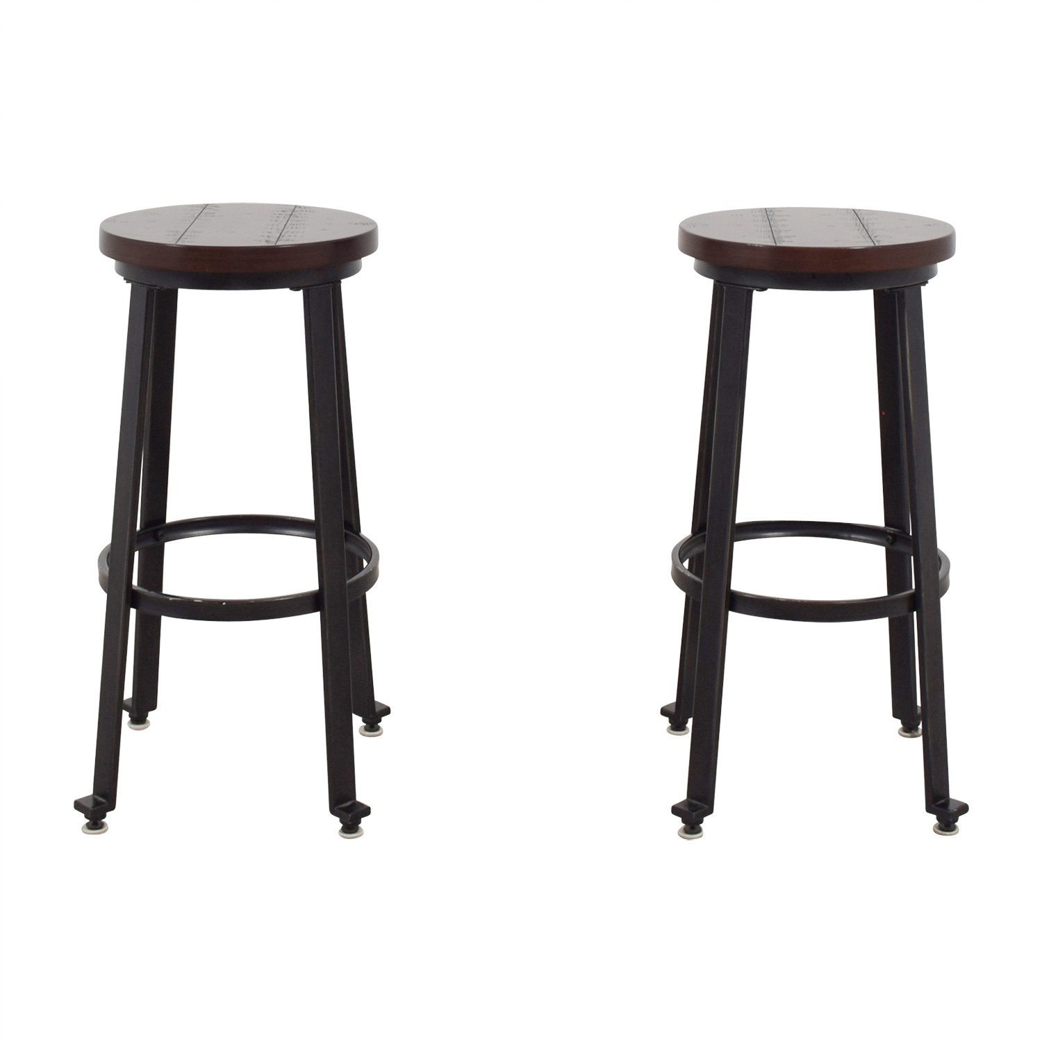 shop Wood and Metal Barstools  Stools