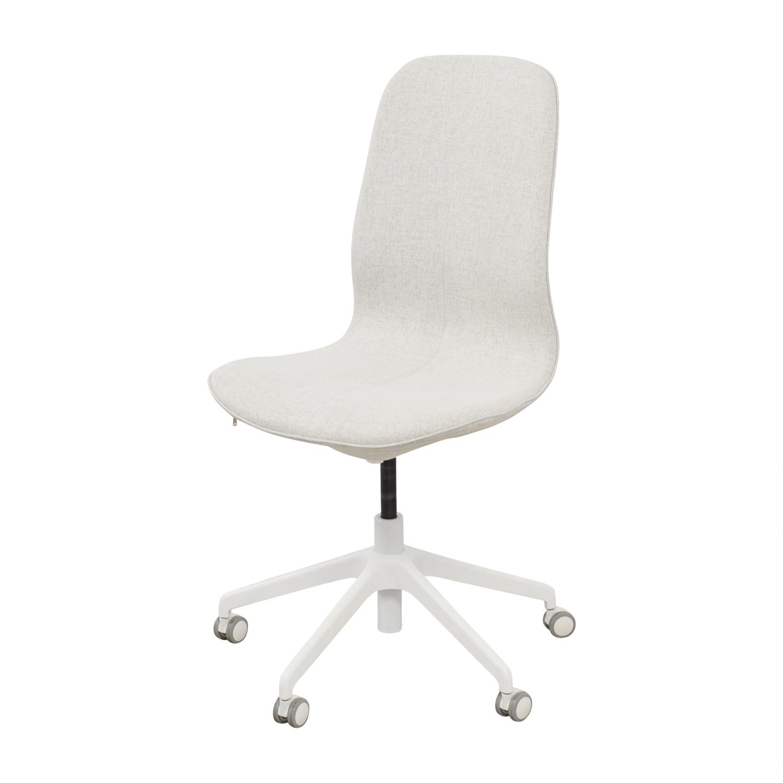 67 Off Ikea Ikea Langfjall Swivel Chair Chairs