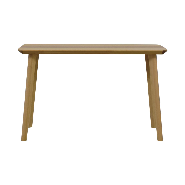 IKEA Lisabo Natural Desk sale