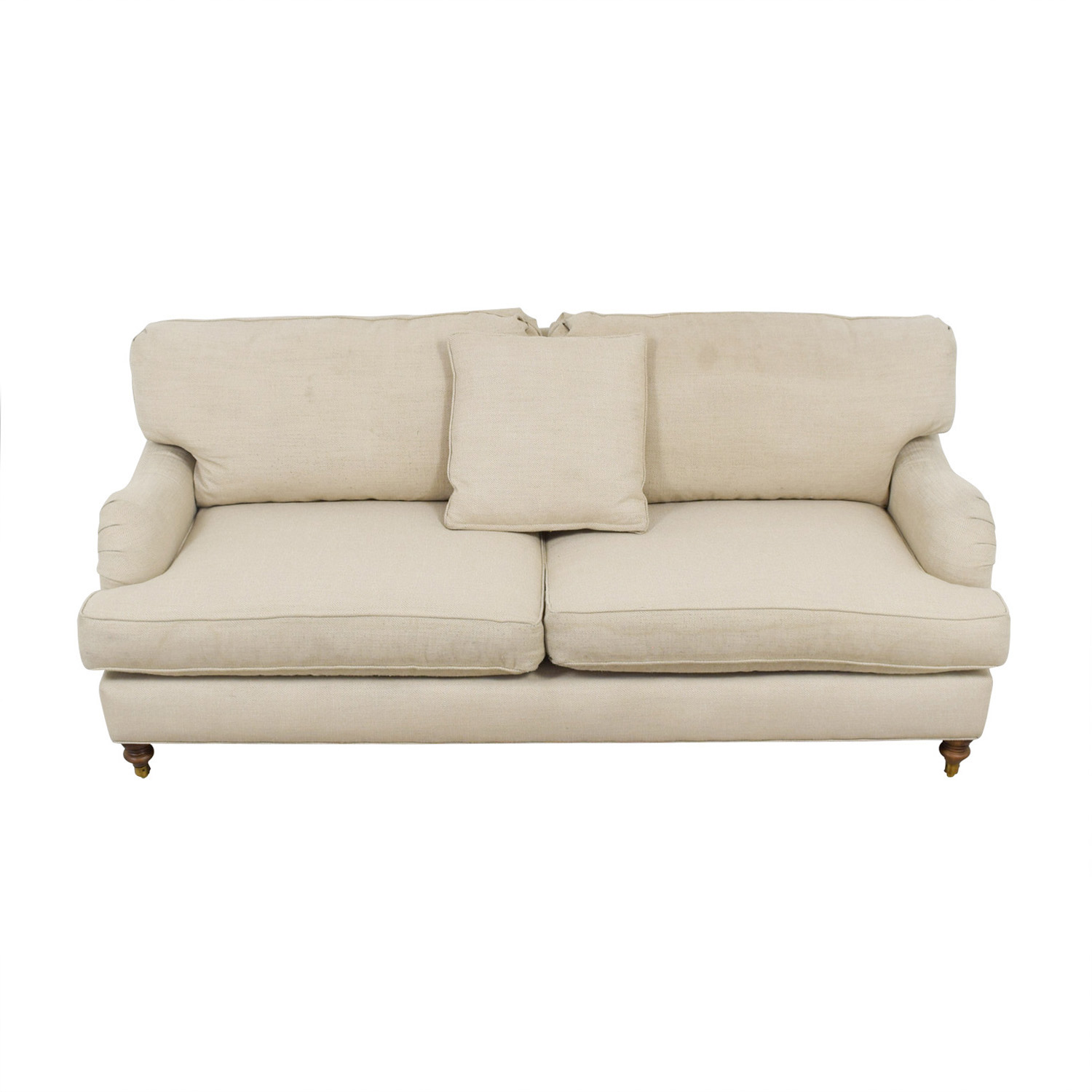 Robin Bruce Brooke Natural Roll-Arm Sofa Robin Bruce