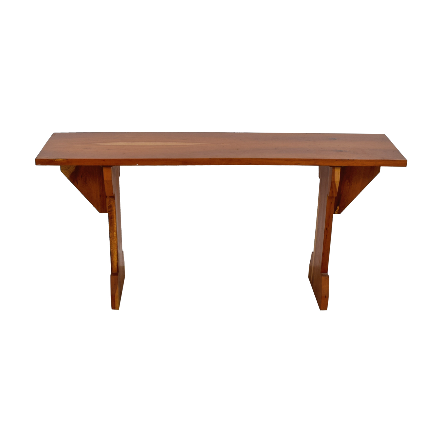 Custom Cherry Wood Narrow Dining Table dimensions