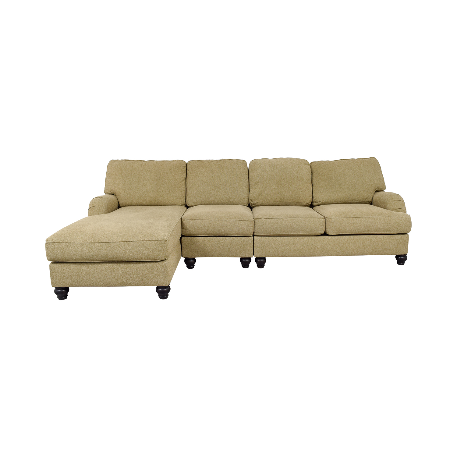 Ashley's Furniture Ashley's Furniture Tan Sectional Sofa Sofas